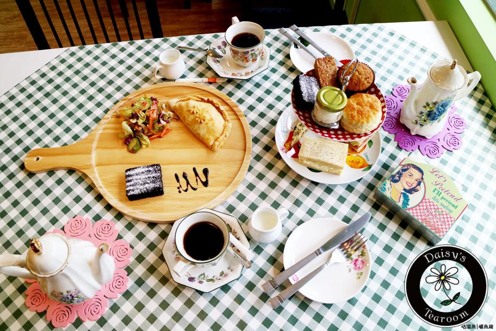 【食】台南.中西區| Daisy's Tearoom ღ It's tea time!來自英國最純正英式下午茶