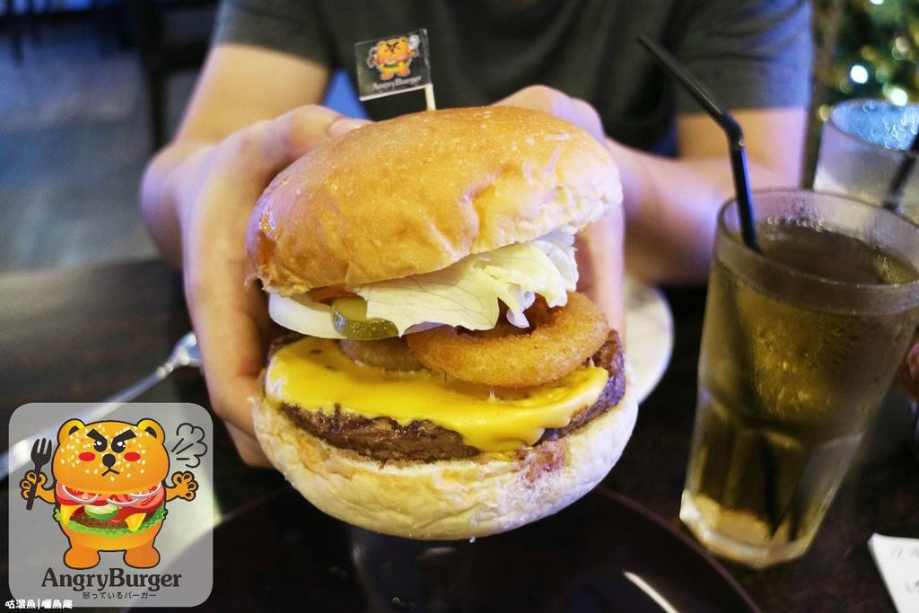 【食】台南.東區| Angry Burger ♣ 巷弄裡具飽足感的大份量漢堡