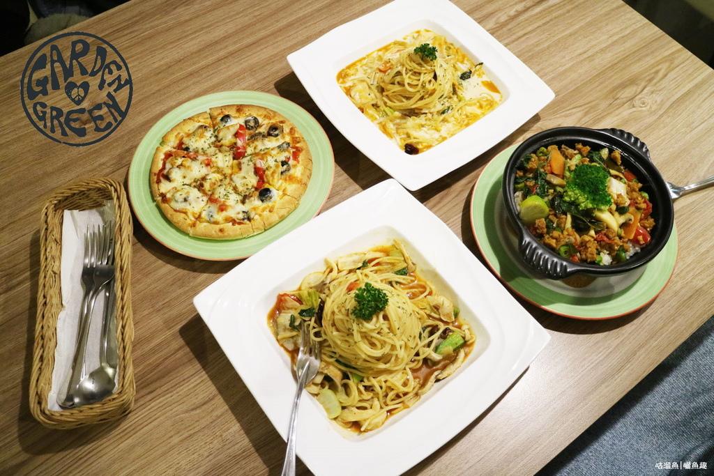 【食】高雄.鳥松區| 泰義蔬食咖啡館 Garden green ✜ 顛覆蔬食美味推薦