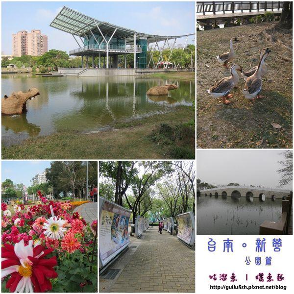 【休閒】台南新營 ృ 公園慢步調踏青去